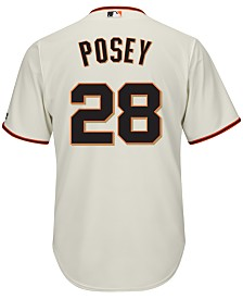Majestic Men's Buster Posey San Francisco Giants Player Replica Jersey