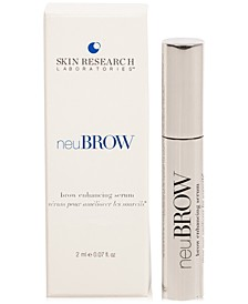 Receive a FREE neuBROW Brow Enhancing Serum, 2ml with any $200 Skin Research Lab purchase (A $33 Value!)