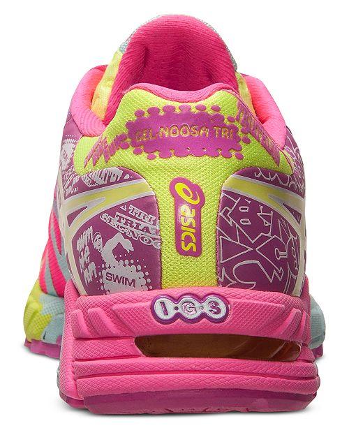 best service e4019 3e9bf ... Asics Women s Gel Noosa Tri 9 Ad Shoe Neon Pink Lime Green ...
