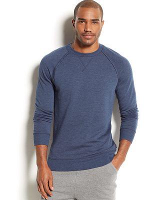 2(x)ist Men's Loungewear, Terry Pullover Sweatshirt