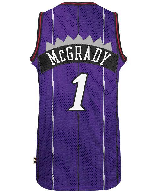 3912fb1f7594 adidas Men s Tracy McGrady Toronto Raptors Swingman Jersey   Reviews ...
