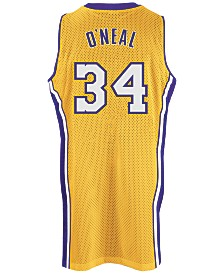 adidas Men's Shaquille O'Neal Los Angeles Lakers Swingman Jersey