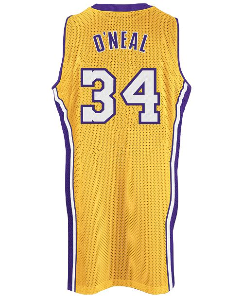 696b571a2 ... adidas Men s Shaquille O Neal Los Angeles Lakers Swingman Jersey ...