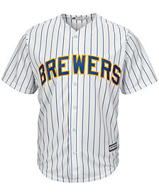 Majestic Men's Milwaukee Brewers Replica Jersey
