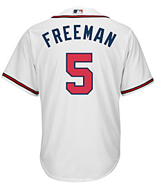 Majestic Men's Freddie Freeman Atlanta Braves Replica Jersey