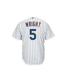 Majestic Men's David Wright New York Mets Replica Jersey