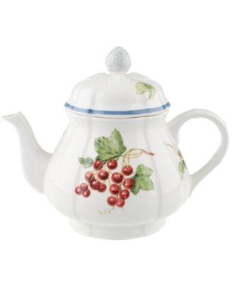 """Cottage Inn"" Teapot, 34 oz"