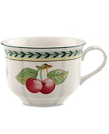 Villeroy & Boch Dinnerware, French Garden Breakfast Cup