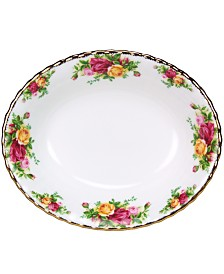 Royal Albert Old Country Roses 32 oz. Open Vegetable Bowl
