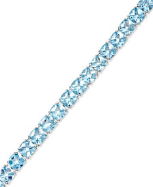 Sky Blue Topaz Tennis Bracelet in Sterling Silver (5 ct. t.w.)