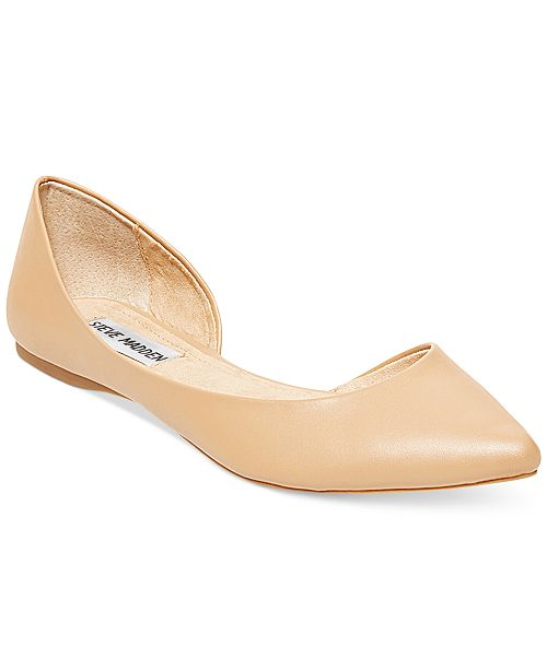 339a62a6bc9 Steve Madden Women's Elusion d'Orsay Flats & Reviews - Flats - Shoes ...