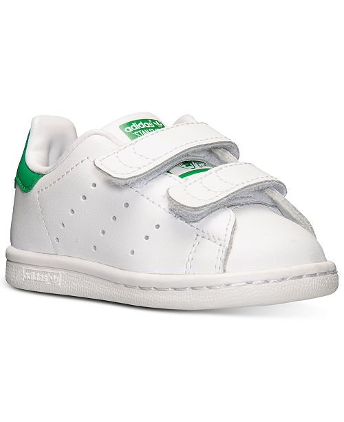 best website c9fed 61964 ... adidas Toddler Boys  Stan Smith Casual Sneakers from Finish Line ...