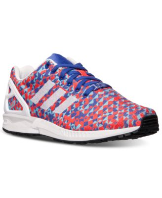 check out e4231 af222 ... adidas Mens ZX Flux Weave Casual Sneakers from Finish Line - Finish  Line Athletic Shoes ...