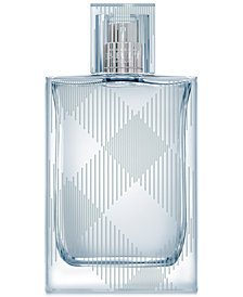 Burberry Men's Brit Splash Eau de Toilette Spray, 1.7 oz.