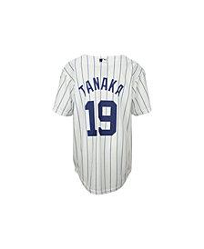 MajesticMasahiro Tanaka New York Yankees Replica Jersey, Big Boys (8-20)