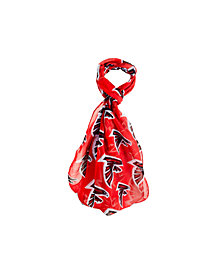 Forever Collectibles Atlanta Falcons All Over Logo Infinity Scarf