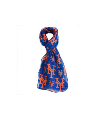 New York Mets All Over Logo Infinity Scarf