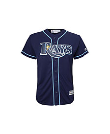 Majestic Tampa Bay Rays Replica Jersey, Big Boys (8-20)