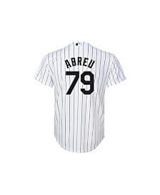 Majestic Jose Abreu Chicago White Sox Replica Jersey, Big Boys (8-20)