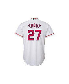 Mike Trout Los Angeles Angels of Anaheim Replica Jersey, Big Boys (8-20)