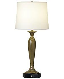 CLOSEOUT! Pacific Coast Triangular Base Table Lamp