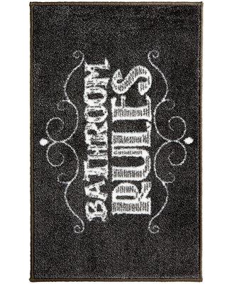 avanti chalk it up bath rug bath rugs bath mats bed bath macy 39 s. Black Bedroom Furniture Sets. Home Design Ideas