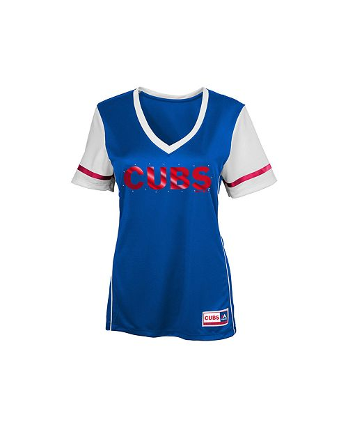 Majestic Girls' Chicago Cubs Curveball T-Shirt