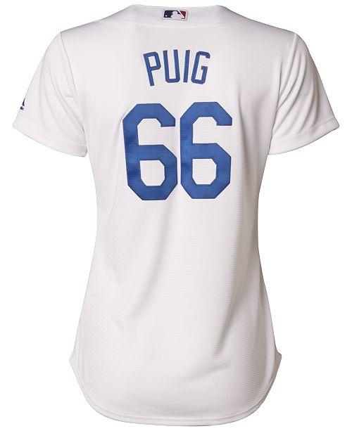 ... Majestic Women s Yasiel Puig Los Angeles Dodgers Cool Base Jersey ... 2d16b915f6