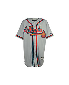 Majestic Kids' Atlanta Braves Replica Jersey, Big Boys (8-20)