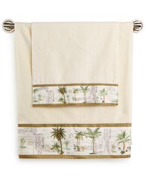 Avanti Colony Palm Bath Towel Bedding 2140261