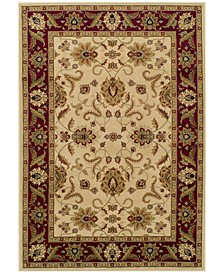 "CLOSEOUT! St. Charles WB524 Ivory 5'1"" x 7'5"" Area Rug"