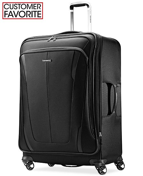 "Samsonite CLOSEOUT! 60% OFF Silhouette Sphere 2 29"" Spinner Suitcase, Available in Ruby Red, Created for Macy's"