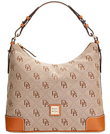 Dooney & Bourke Signature Erica Hobo, Created for Macy's