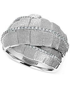 Balissima by EFFY Diamond Ring (2/5 ct. t.w) in Sterling Silver