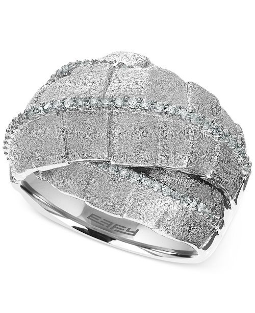 EFFY Collection Balissima by EFFY Diamond Ring (2/5 ct. t.w) in Sterling Silver