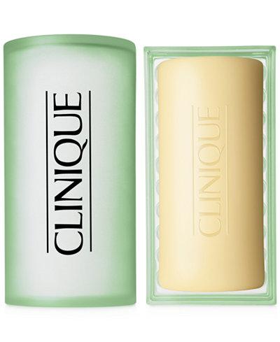 Clinique Facial Soap with Dish, Mild - 5.2 oz