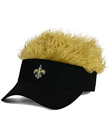 Concept One New Orleans Saints Flair Hair Visor