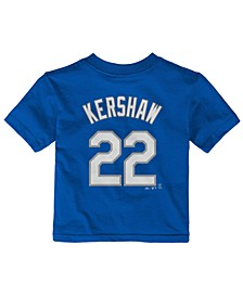 Babies' Clayton Kershaw Los Angeles Dodgers Player T-Shirt