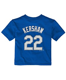 Majestic Babies' Clayton Kershaw Los Angeles Dodgers Player T-Shirt