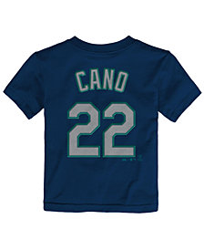 Majestic Babies' Robinson Cano Seattle Mariners Player T-Shirt