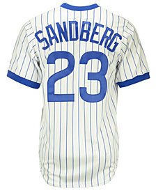 Majestic Ryne Sandberg Chicago Cubs Cooperstown Replica Jersey