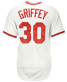Majestic Ken Griffey Sr. Cincinnati Reds Cooperstown Replica Jersey