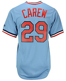 Majestic Rod Carew Minnesota Twins Cooperstown Replica Jersey