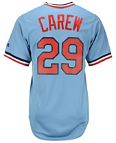 b4ea2417 Majestic Rod Carew Minnesota Twins Cooperstown Replica Jersey
