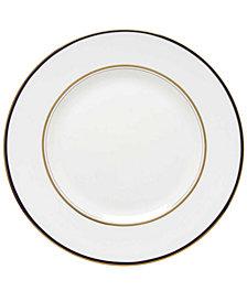 kate spade new york Library Lane Navy Dinner Plate
