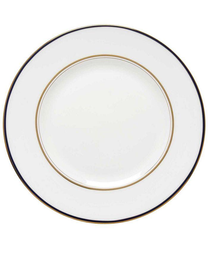 """kate spade new york - """"Library Lane"""" Navy Dinner Plate"""