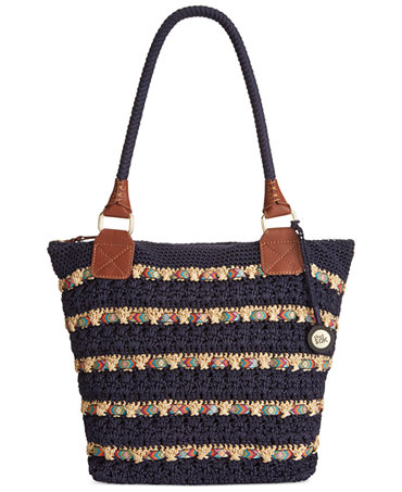 The Sak Bags Crochet : The Sak Cambria Large Crochet Tote - Handbags & Accessories - Macys