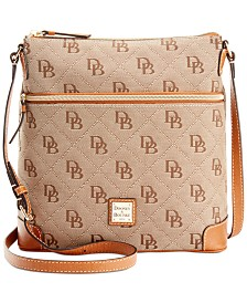 Dooney & Bourke Maxi Quilt Signature Crossbody, Created for Macy's