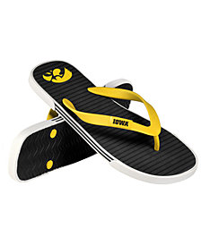 Forever Collectibles Iowa Hawkeyes Thong Sandals