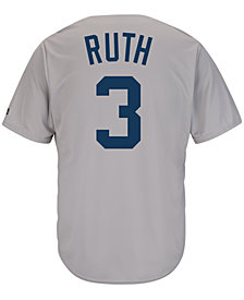 Majestic Men's Babe Ruth New York Yankees Cooperstown Replica Jersey